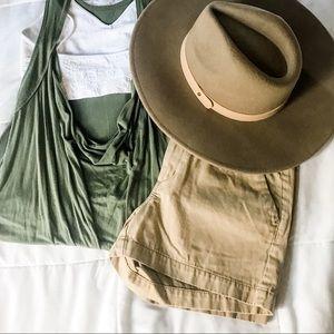 ◽️3/$20 Merona Women's Khaki Shorts, Size 2